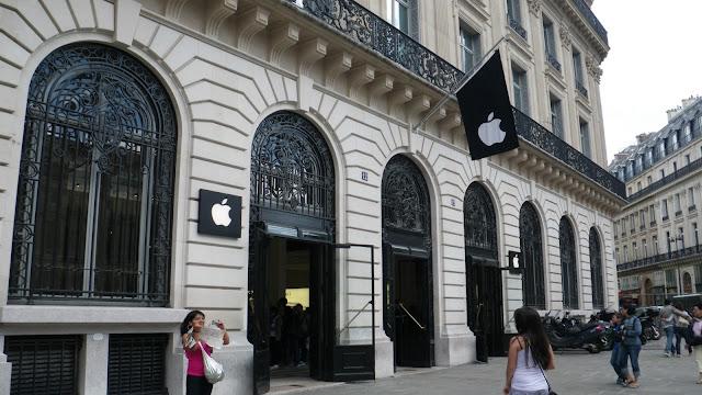 Loja Apple em Paris