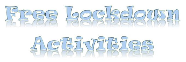 Free Lockdown Activities Banner ©BionicBasil®