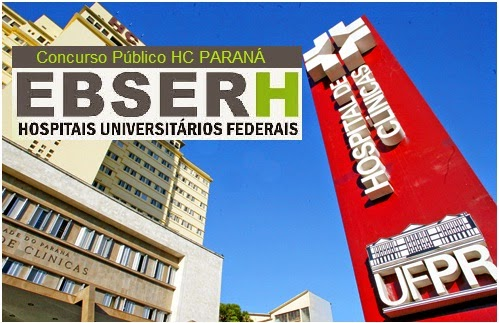 Apostila EBSERH - Enfermeiro UFPR - Hospital de Clínicas (Paraná/PR) Concurso Público HC/UFPR da MVFA em Curitiba, Edital 2015.