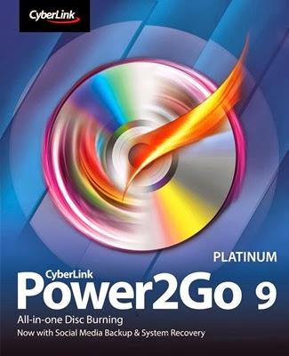 Download Cyberlink Power2Go 9 Platinum + Crack