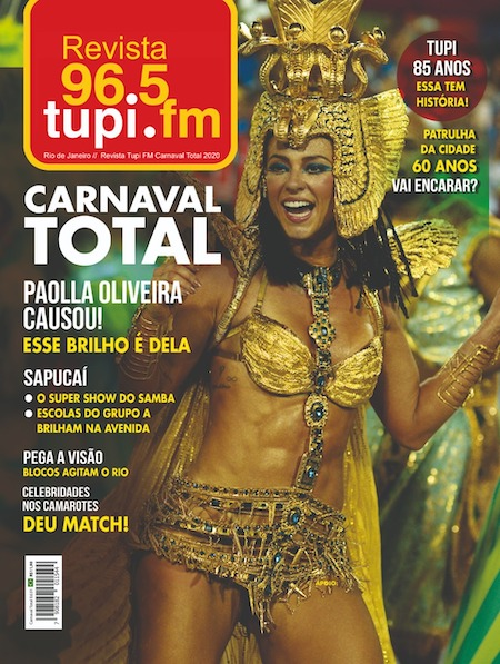 Chega às bancas revista 'Tupi Carnaval Total'