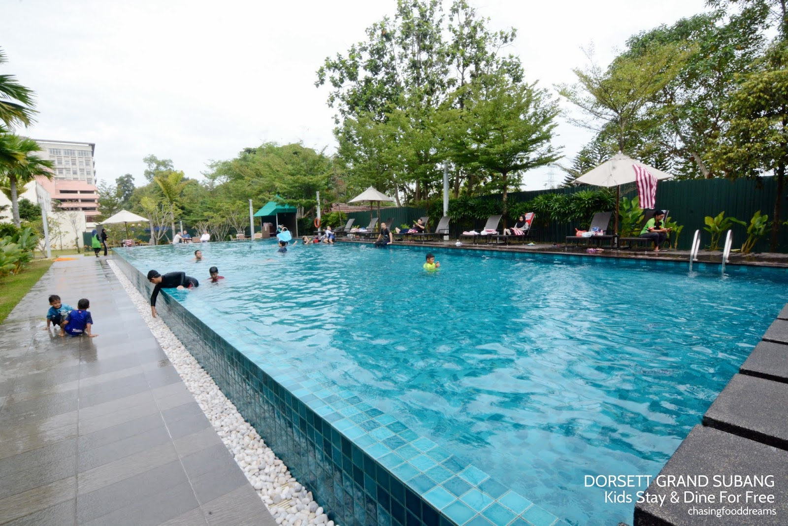 CHASING FOOD DREAMS: Dorsett Grand Subang Kids Stay & Dine For Free