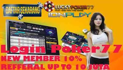 Login Poker77