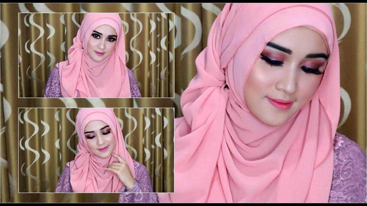 model hijab segi empat 2021