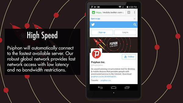 Latest Psiphon Pro v155 Cracked APK  2017 Settings inside