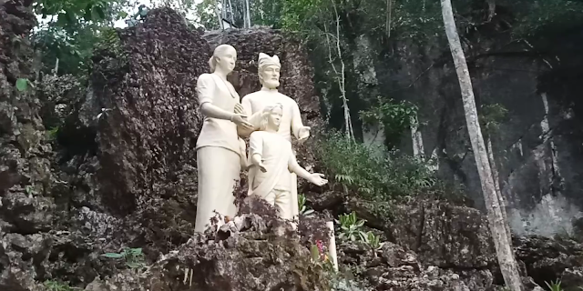 Wow, Ada Rute Jalan Salib di Wisata Rohani Sa'pak Bayo-bayo