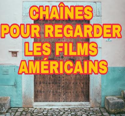 Fréquence des Chaîne américaines de films de Hollywood, d'action ET  Drama en anglais avec traduction en arabe