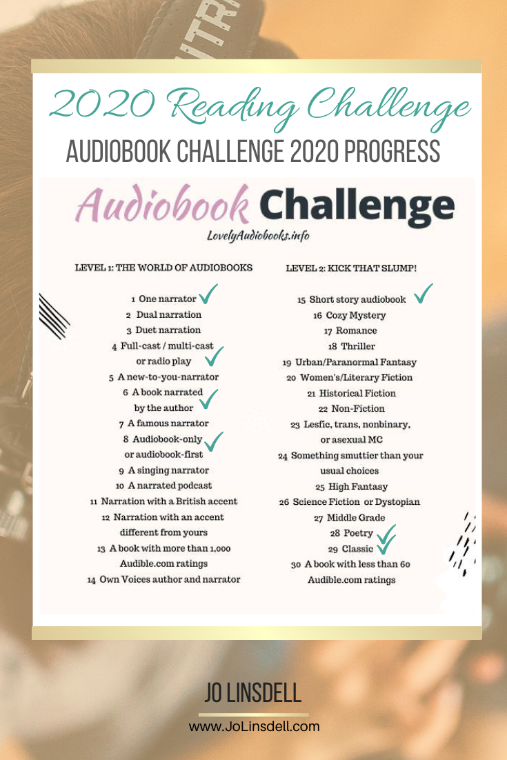 The Audiobook Challenge 2020 Progress Report