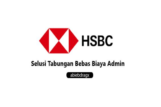 Tabungan Tanpa Biaya Admin HSBC