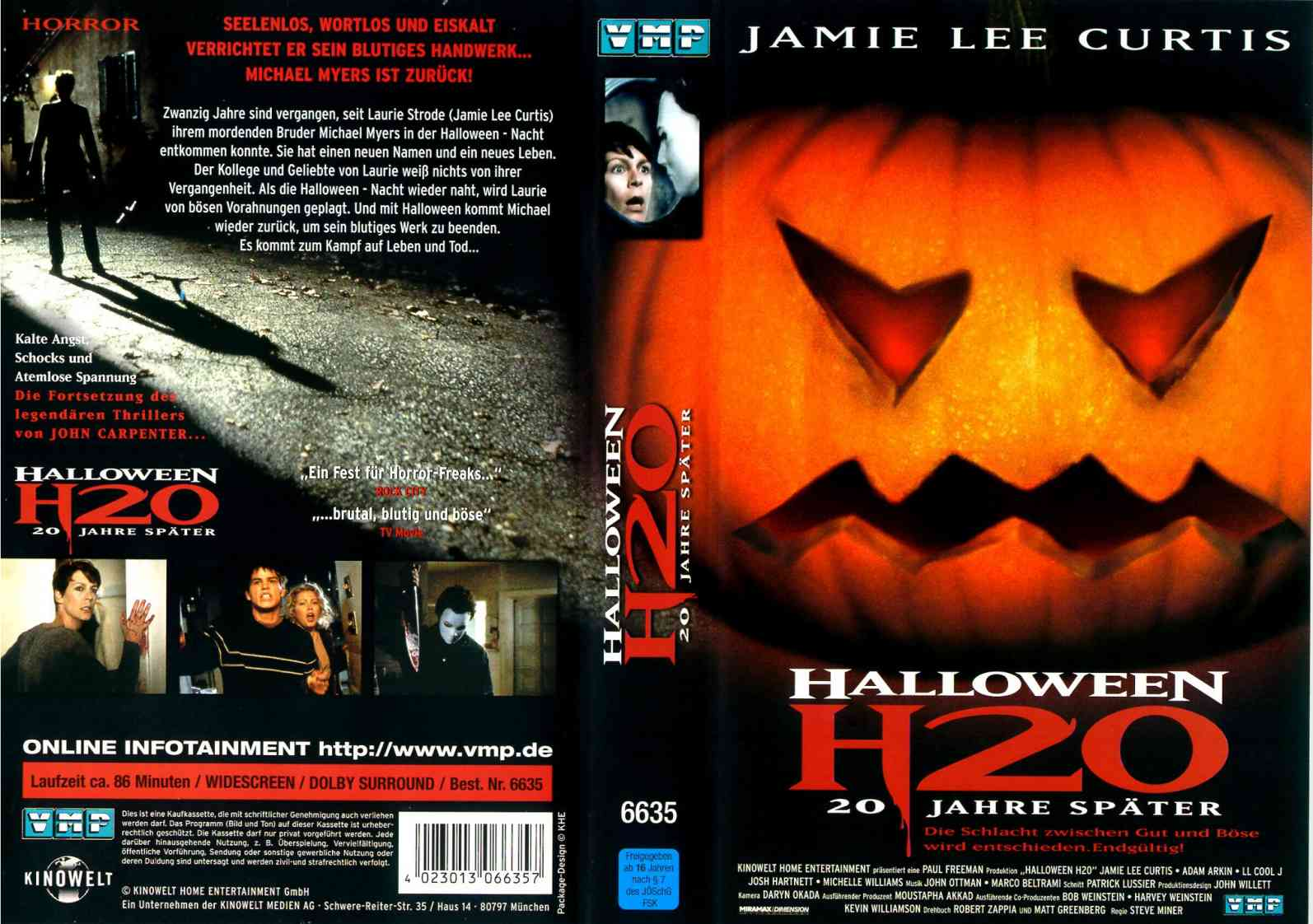 The Horrors of Halloween: HALLOWEEN H20: 20 YEARS LATER