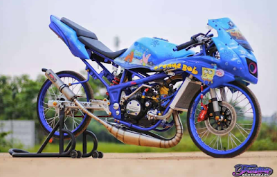 Modifikasi Stiker Motor Ninja RR