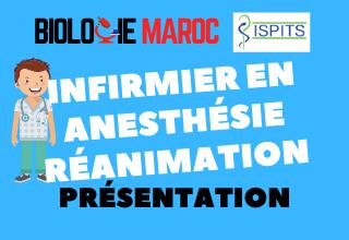 INFIRMIER EN ANESTHÉSIE REANIMATION -ISPITS-