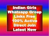 Indian Girls Whatsapp Group Links
