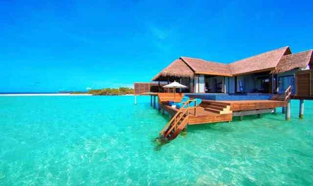 Salah Satu Resort di Pulau Pramuka