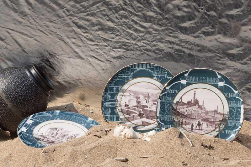 piatti collezione Cairo - design Vito Nesta