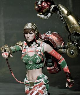 Gadget ugly swear skin Dulce Navidad