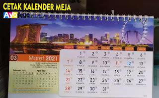 Jasa Tempat Cetak Kalender Meja Yang Murah di Kiaracondong, Bandung