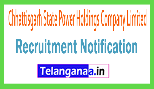 Chhattisgarh State Power Holdings Company Limited CSPDCL Recruitment