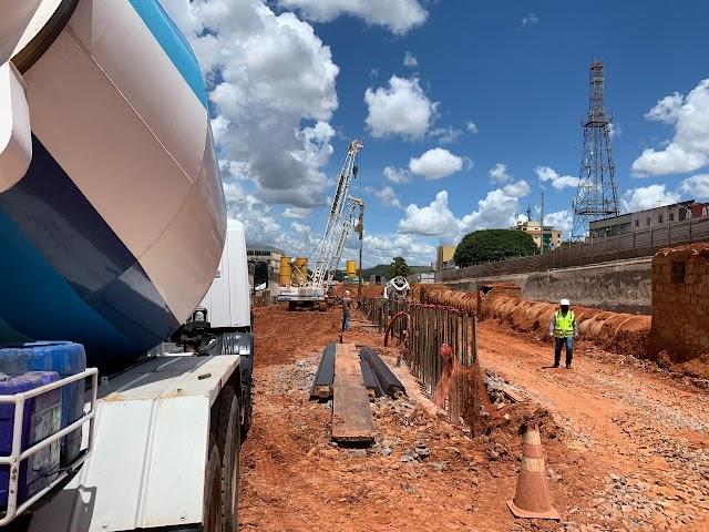 Dois trechos de via serão interditados em Taguatinga para obras do túnel