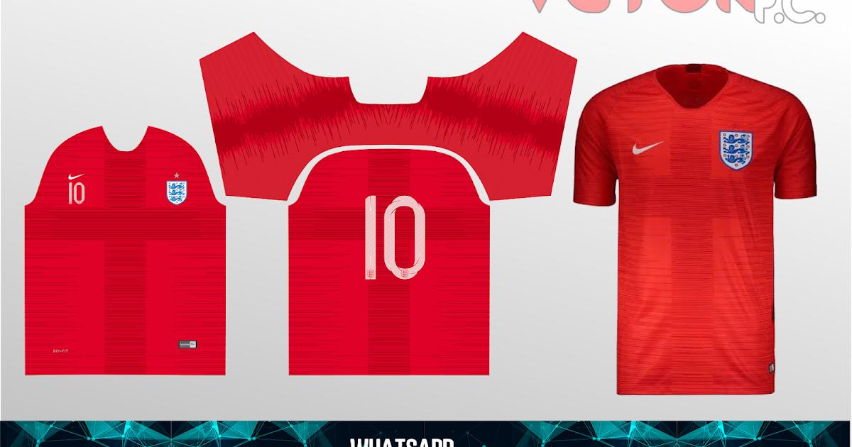 Templates, Fontes E Vetores: Camisa Inglaterra 2019