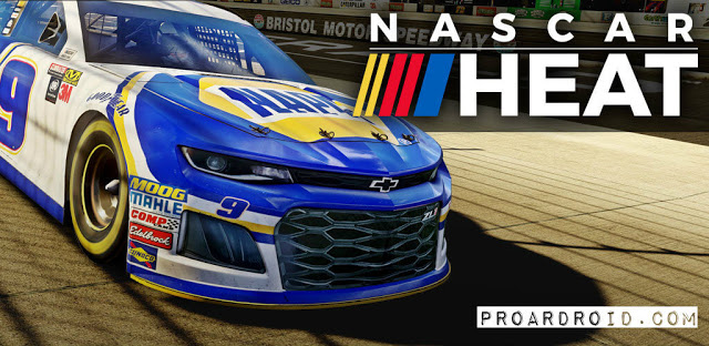 تحميل لعبة NASCAR Heat Mobile v1.3.2 كاملة للأندرويد (اخر اصدار) logo