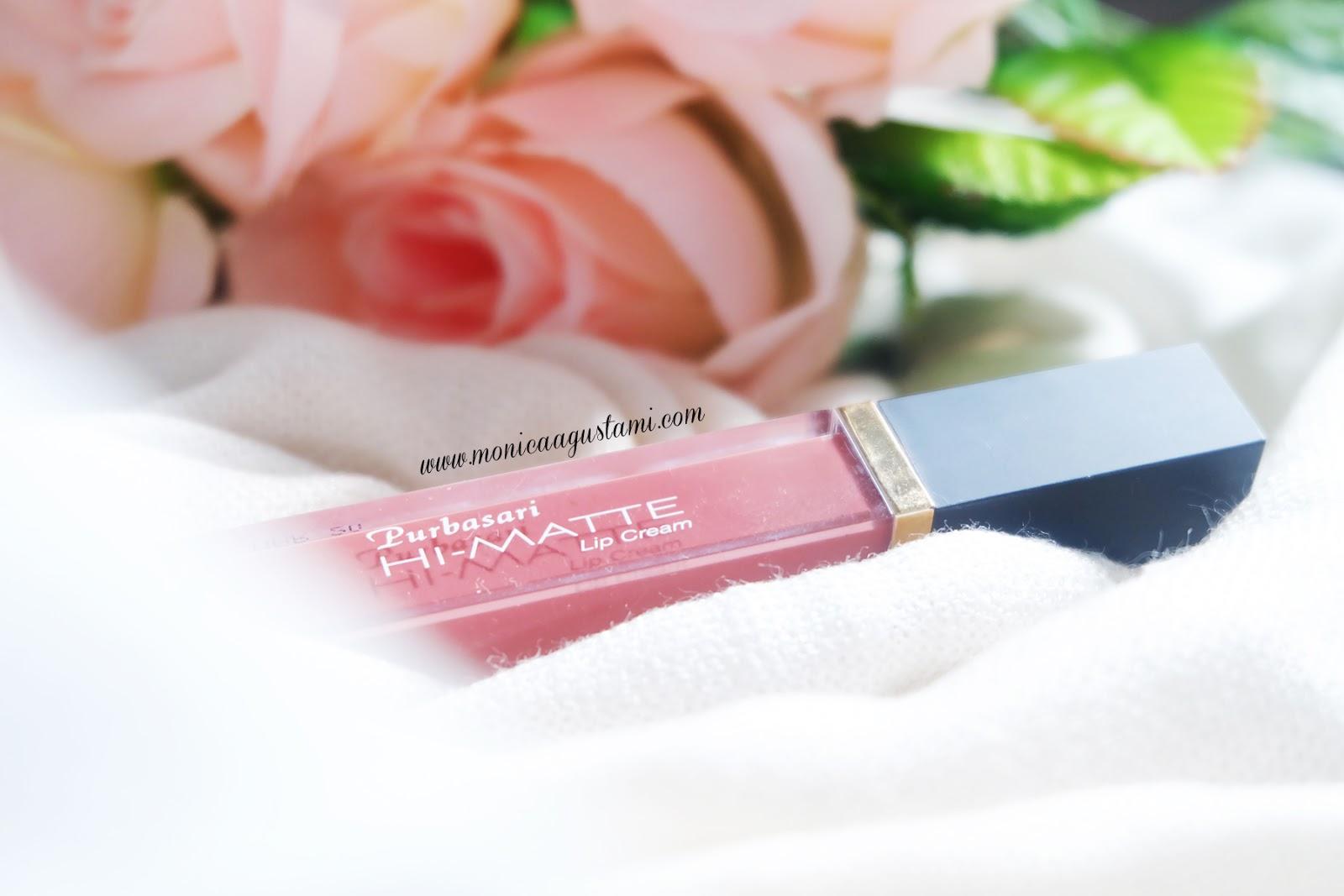 Monica Agustami Review Apakah Purbasari Hi Matte Lip Cream