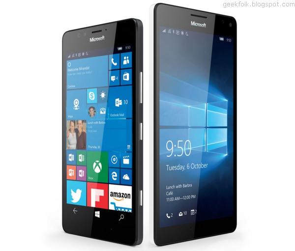 Microsoft Lumia 950 & 950XL
