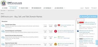 dnforum domain sale, appraisals