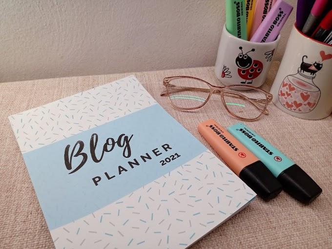 Planner Literário 2021 A5 -  para imprimir