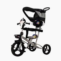 sepeda roda tiga anak exotic baby shark tricycle
