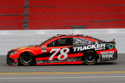 The Furniture Row Racing Toyota of Martin Truex Jr. proved too low at the height station and therefore failed tech.