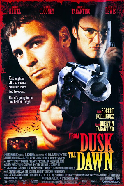 From Dusk Till Dawn 1996 movie poster Robert Rodriguez Quentin Tarantino George Clooney