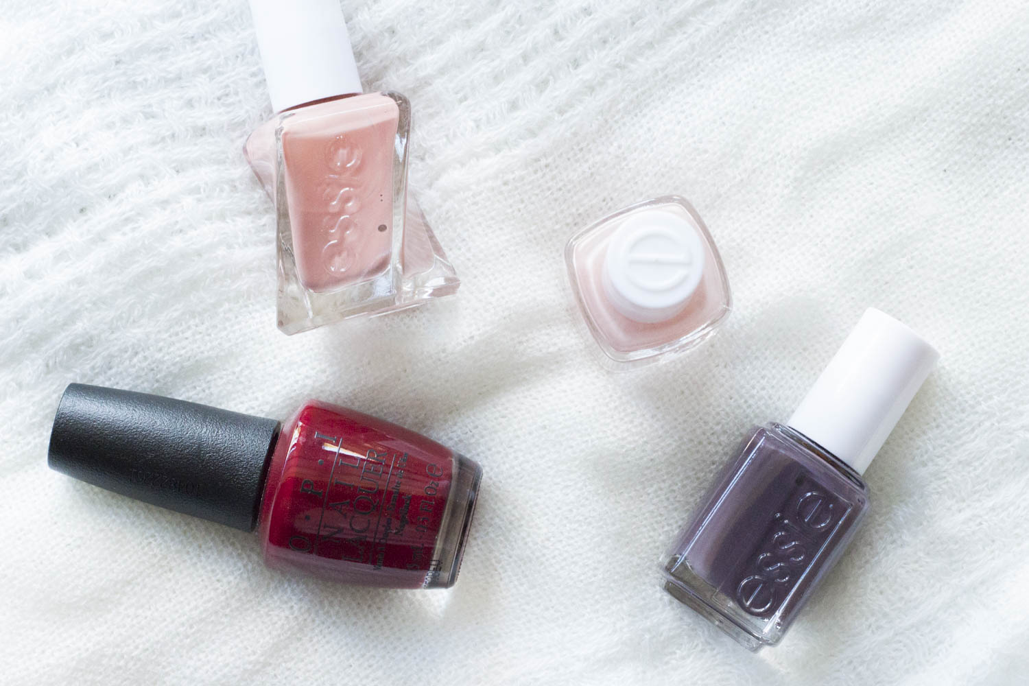 essie and opi polishes