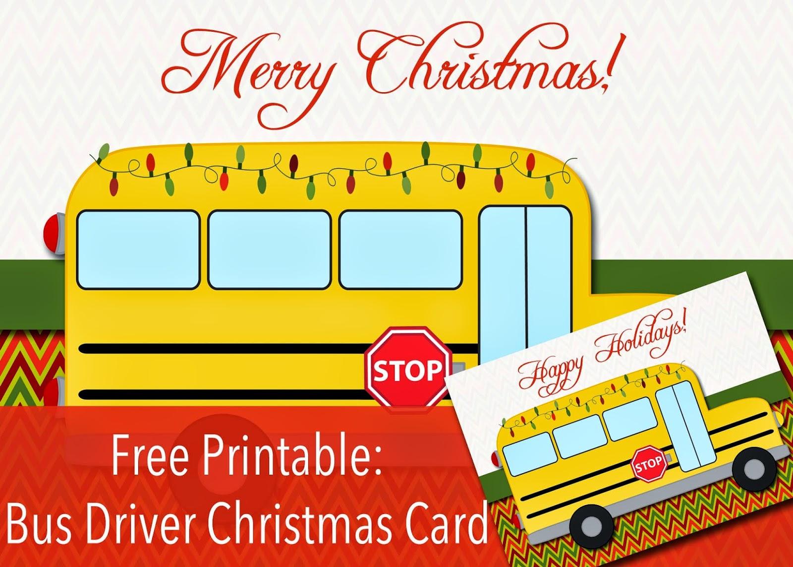 Bus driver gift for christmas