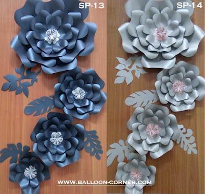 Paper Flower / Bunga Kertas (Paket SP-13 & Paket SP-14)