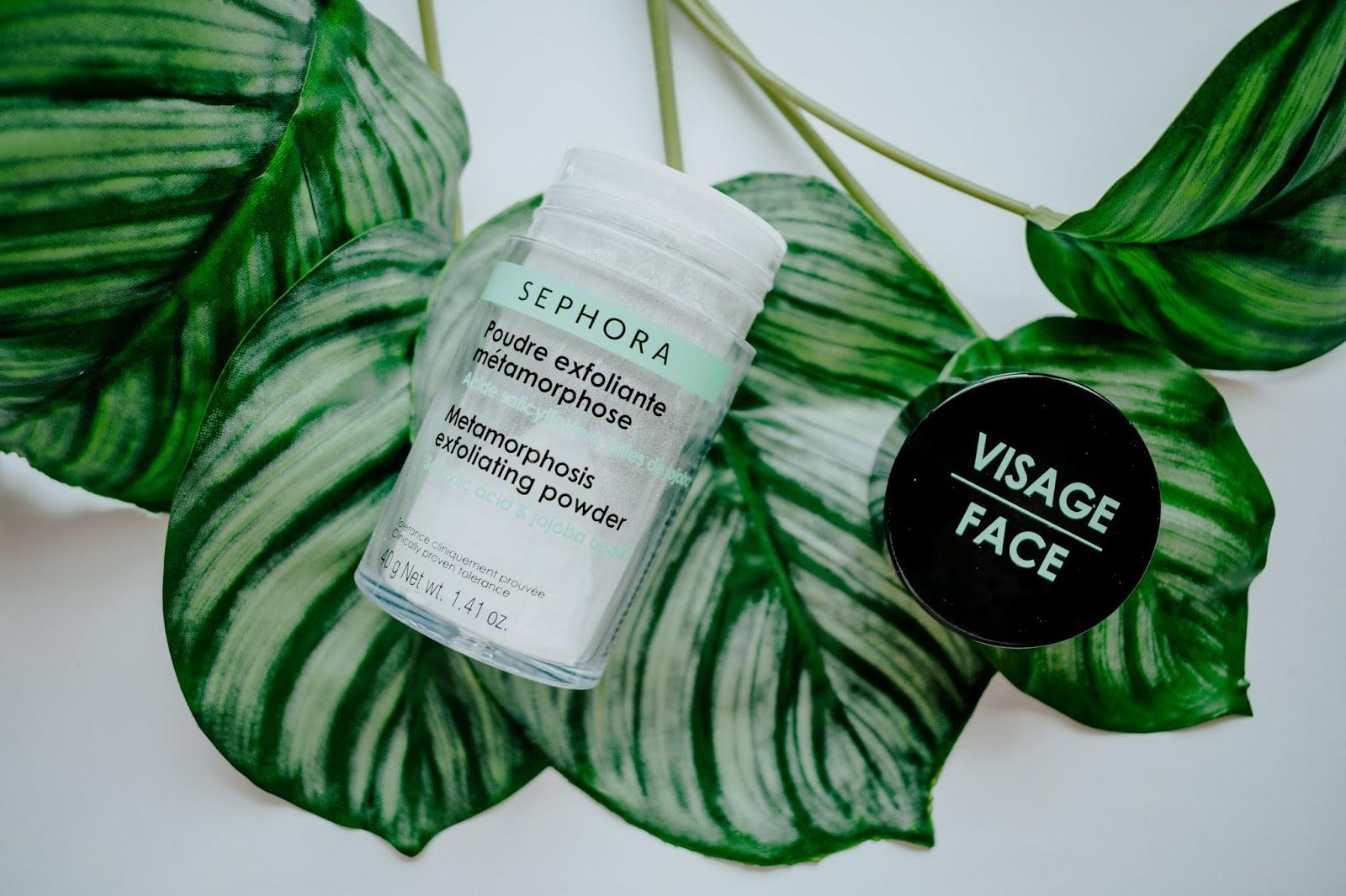 Metamophosis Exfoliating Powder Sephora exfoliante facial polvo