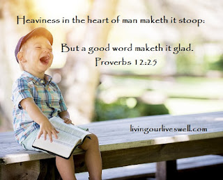 Proverbs 12:25 Scripture Pictures