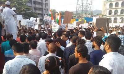 Bhandup protest