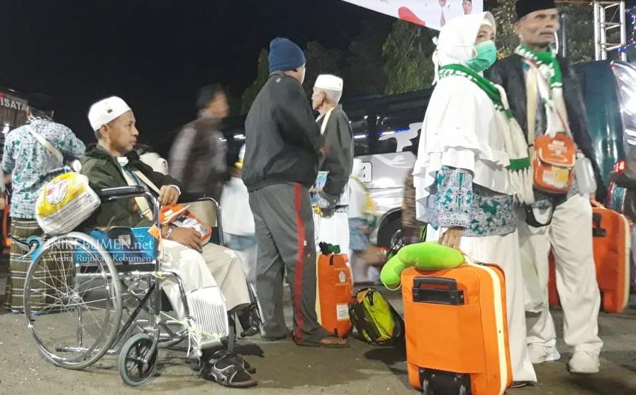 Jamaah Haji Kloter 30 Tiba di Kebumen, Dua Orang Meninggal Dunia di Tanah Suci