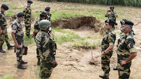 BSF ડીજીએ સરહદી વિસ્તારોની મુલાકાત લીધી, કહ્યું - બંને પડોશીઓ કાવતરું ઘડી રહ્યા છે, જાગ્રત રહેવાની જરૂર છે