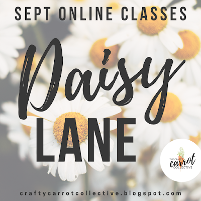Exclusive Daisy Lane by Stampin' Up! online classes. September 2019.