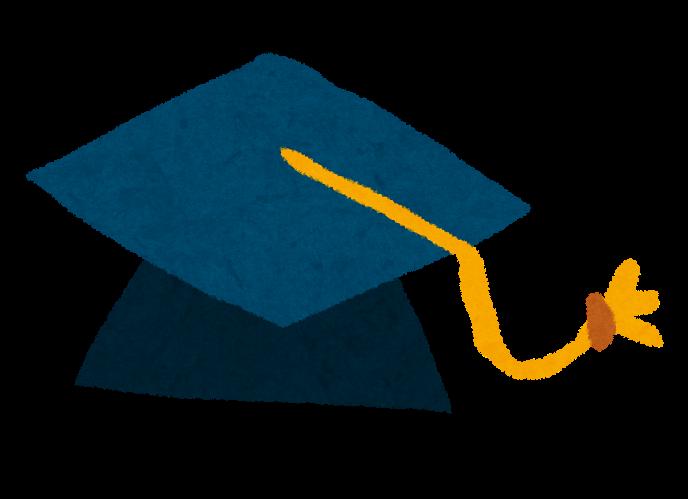 卒業式のイラスト「角帽」 | かわいいフリー素材集 いらすとや