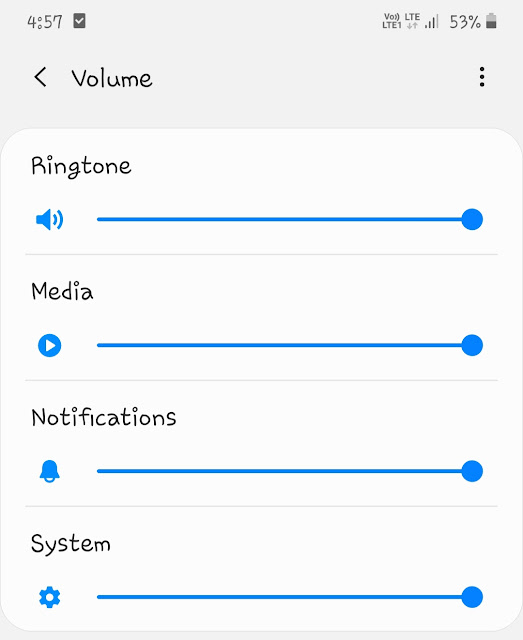 Increase media volume on your phone