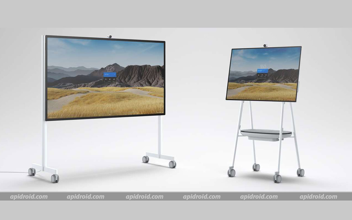 microsoft surface pro 7 and surface hub 2s