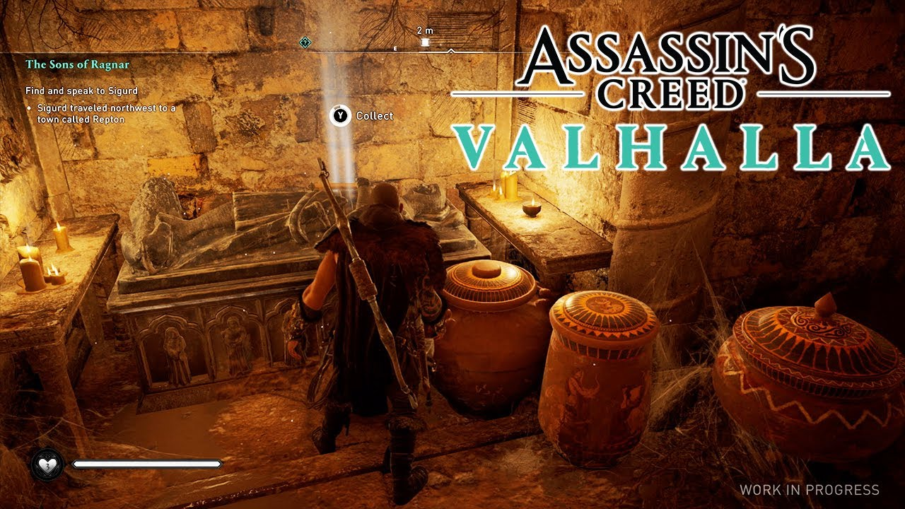 Where to find all the treasures (loot) in Assassin's Creed: Valhalla. Location cards of all gold bars