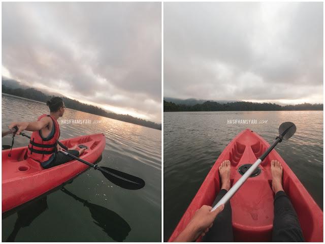 Kayak di Royal Belum