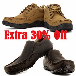 Men's Formal, Casual & Sports Shoes: Upto 58% Off + Extra 30% Off on Branded Footwear @ Flipkart