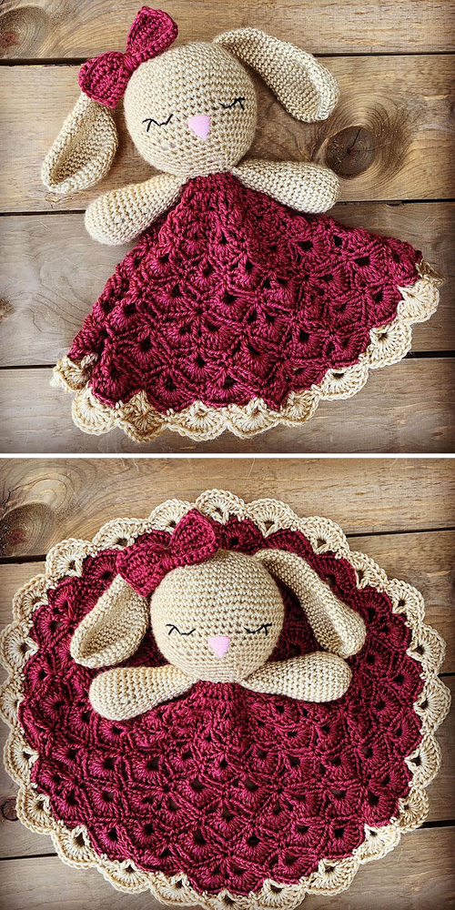 Bunny Lovey Parts & Pieces - Free Pattern