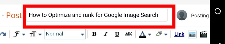 How to Optimize and rank in Google Image Search: The page Title