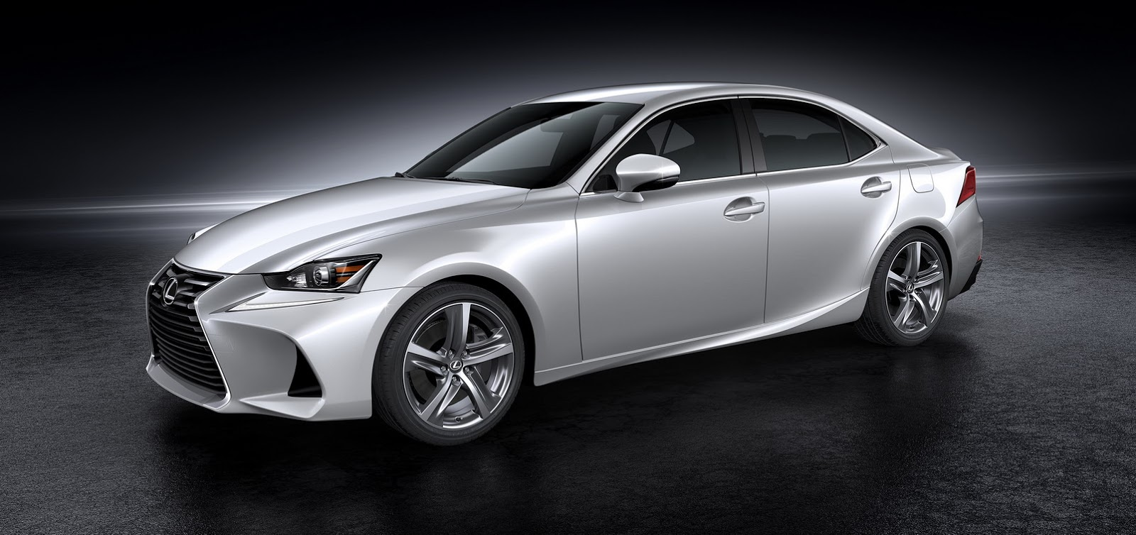 lexus gives 2017 is sedan a modest facelift. Black Bedroom Furniture Sets. Home Design Ideas
